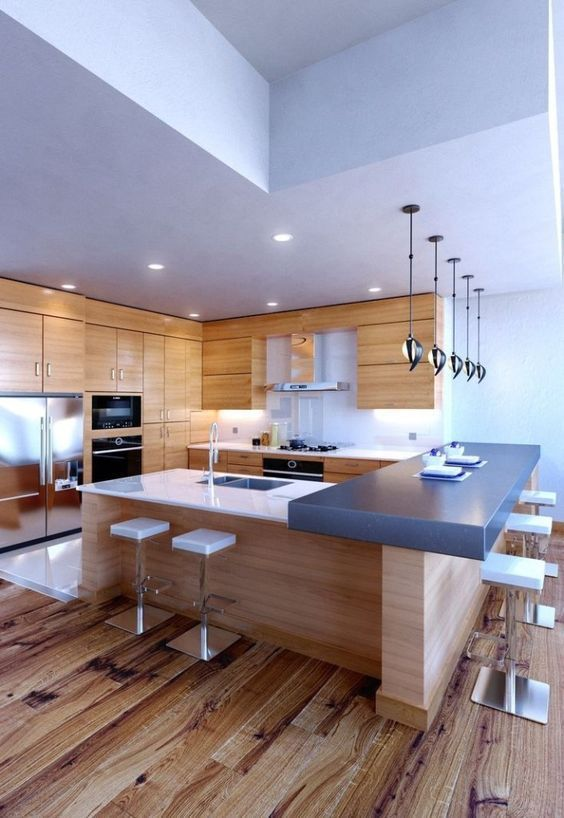 Contemporary Kitchen Ideas: Earthy and Bright