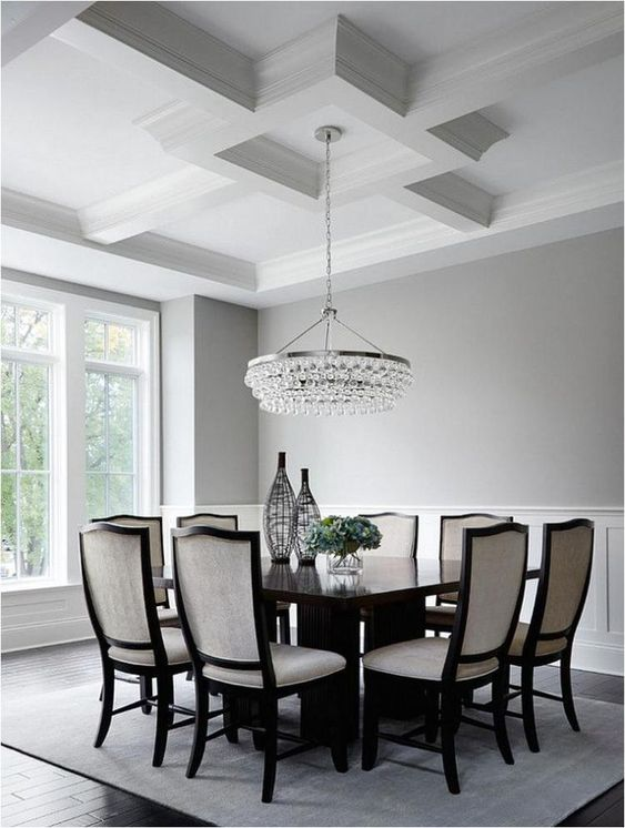 Dining Room Decor Ideas: Eye-Catching Ceiling