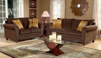 living room brown ideas
