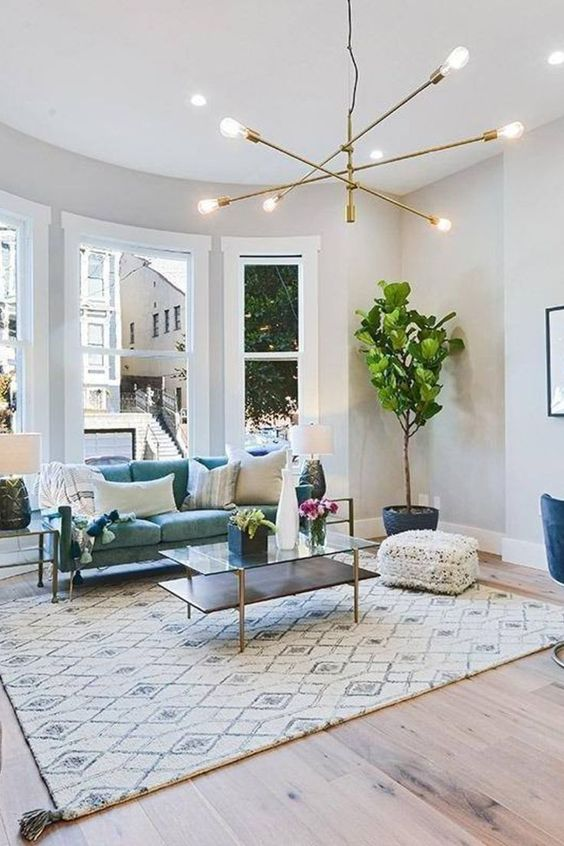 living room rug ideas 16