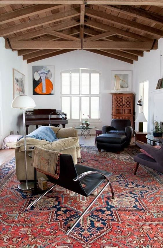 Living Room Rug Ideas: Stunning Persian Rug