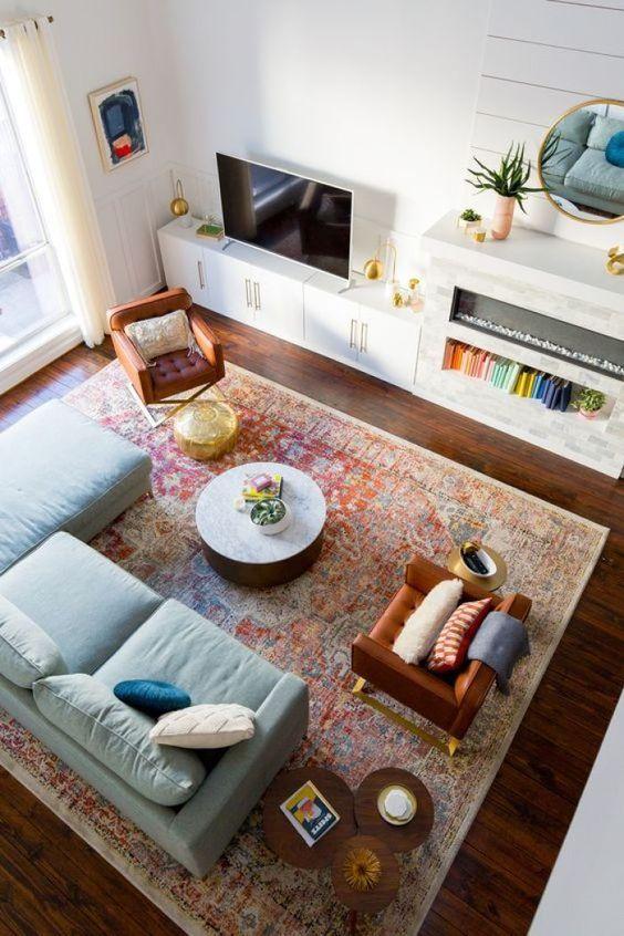 living room rug ideas 7