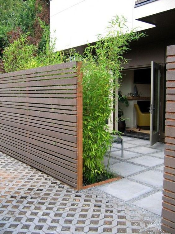 modern fence 10