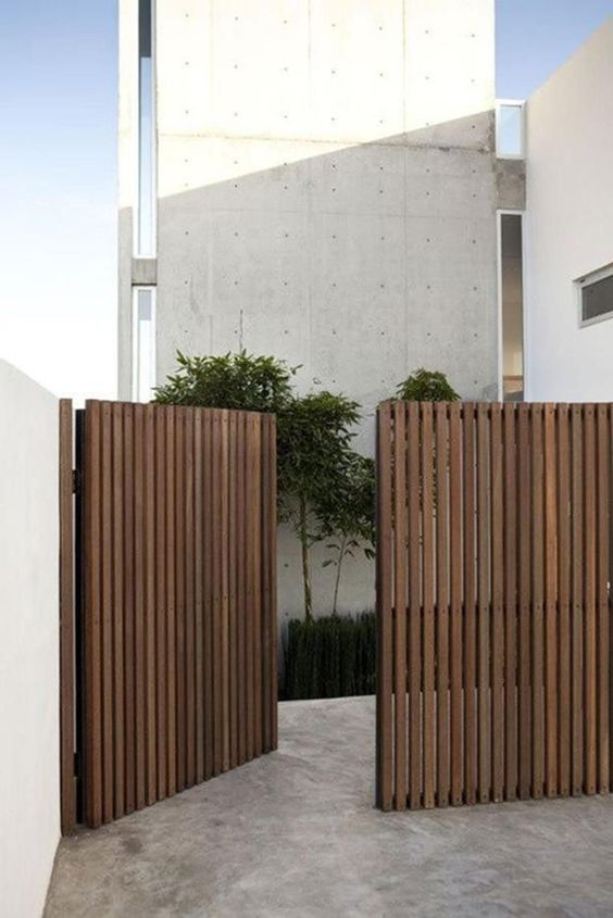 modern fence 11