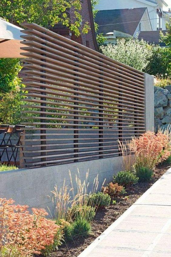 modern fence 13
