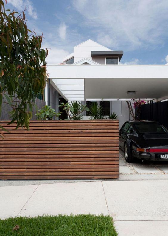Modern Fence: Simple Sliding Fence