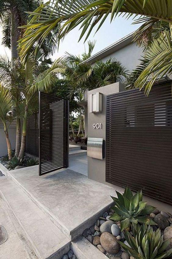modern fence 8
