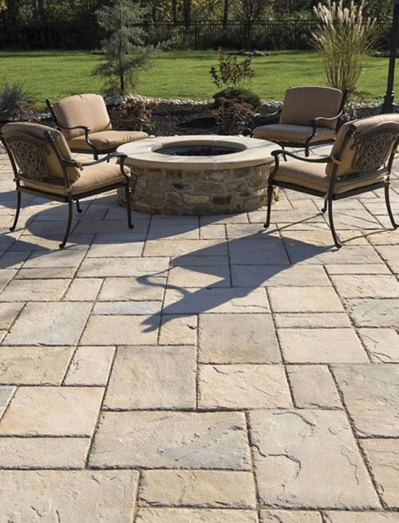 Affordable Patio Pavers Ideas for Your Beautiful Outdoor ... on Small Brick Patio Ideas id=41840