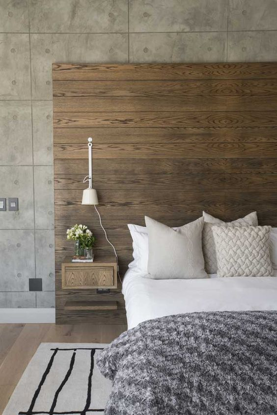 bedroom wood ideas 17