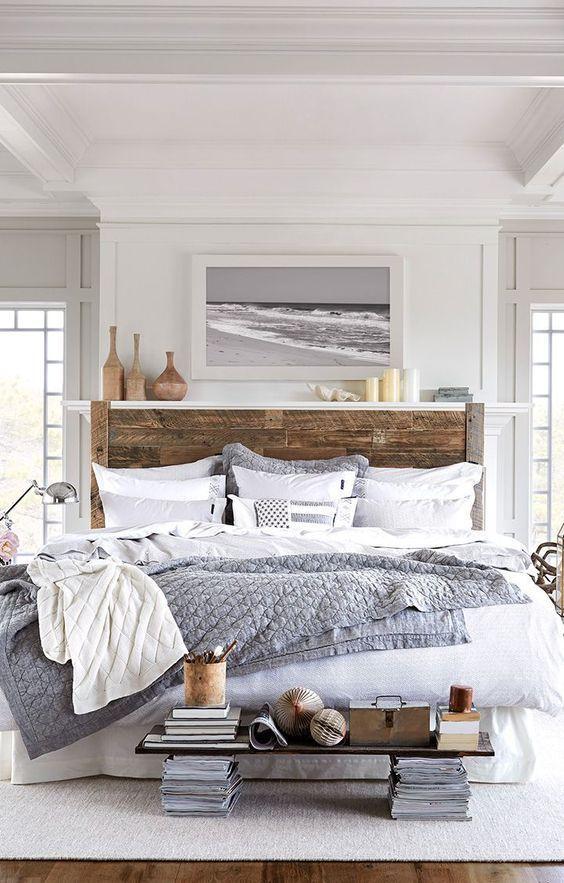 Bedroom Wood Ideas: Stunning Scandinavian Room