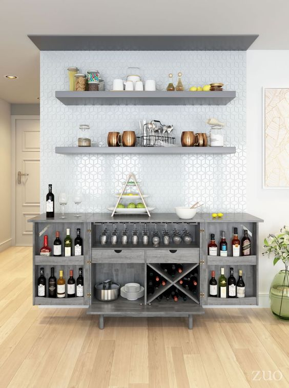 Dining Room Bar Ideas: Stunning Bar Spot