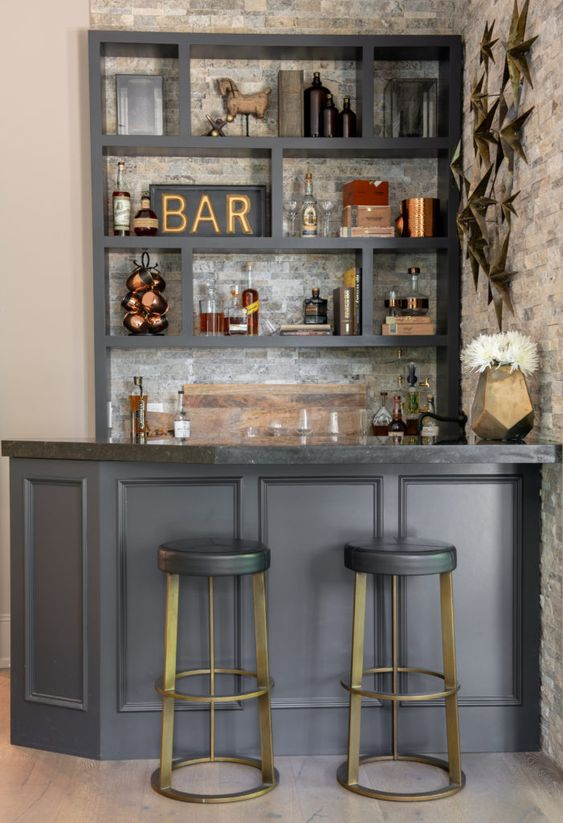 dining room bar ideas 16