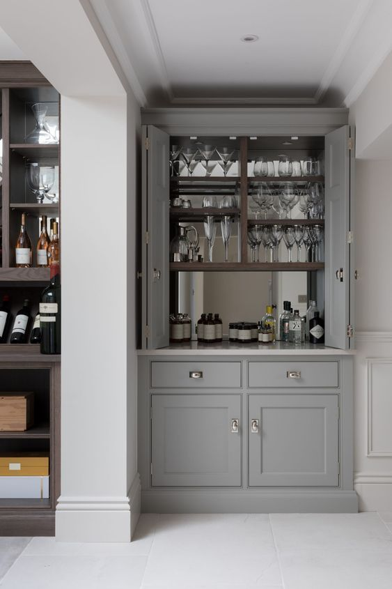 Dining Room Bar Ideas: Small Bar Corner