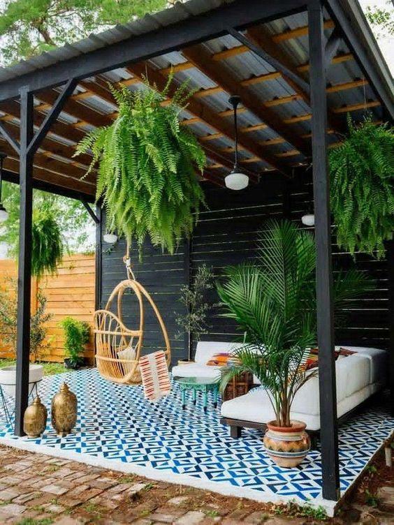 farmhouse backyard ideas 12