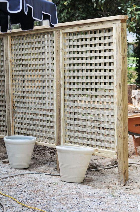 lattice fence 14