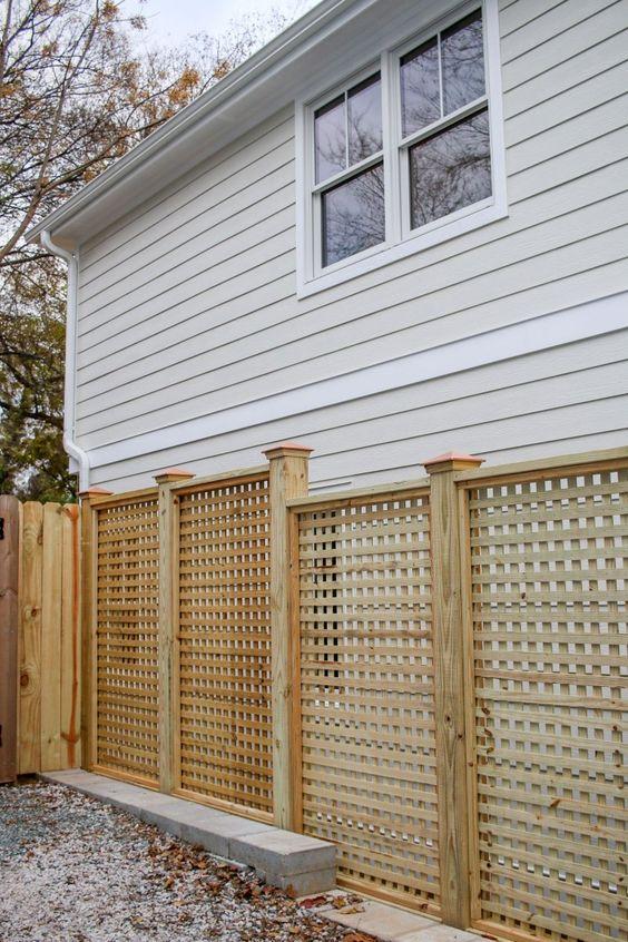 lattice fence 9