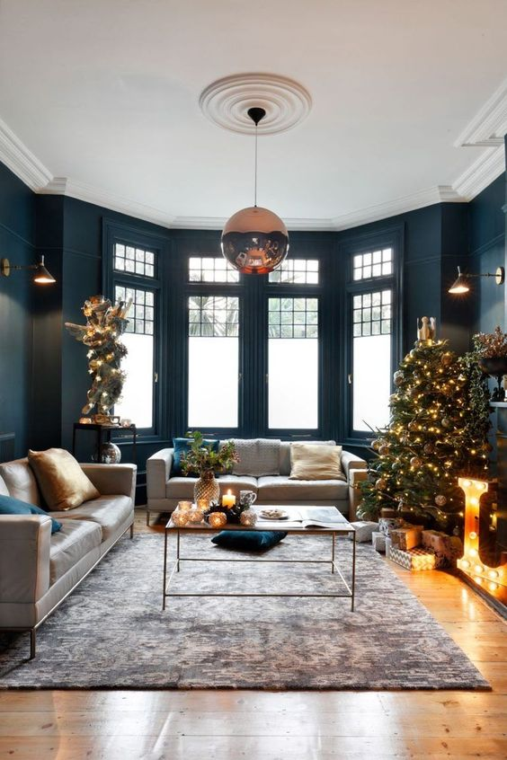 Living Room Lighting Ideas: Simple Pendant Ball