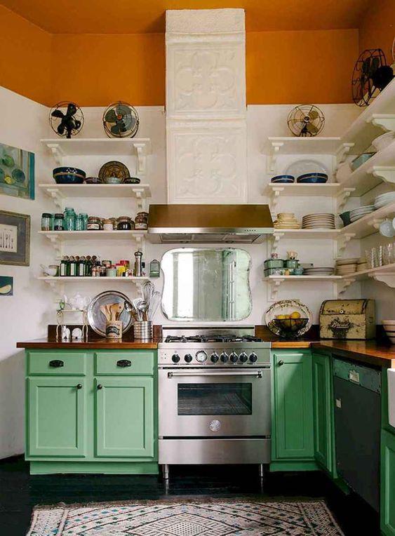 retro kitchen ideas 16