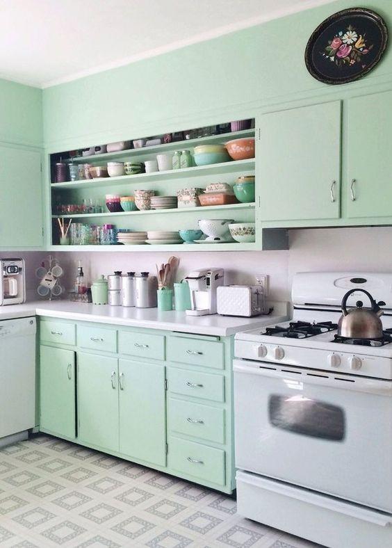 retro kitchen ideas 18