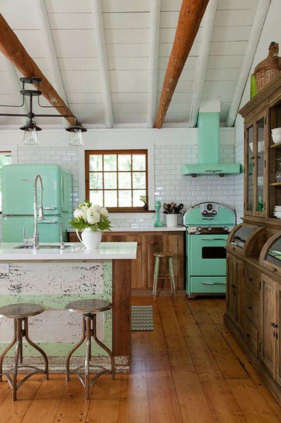 retro kitchen ideas 6