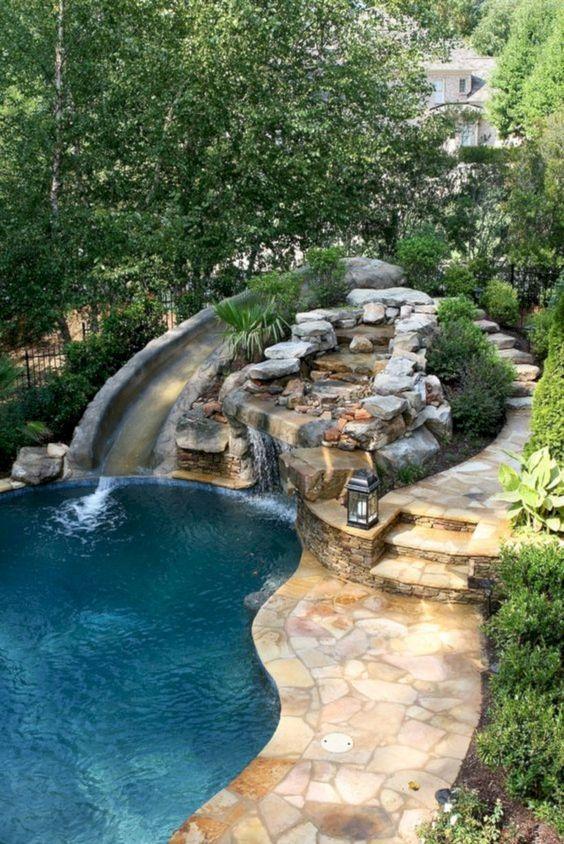 Backyard Decor Ideas: Unique Swimming Pool