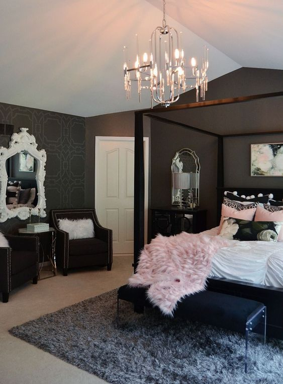 Dark Bedroom Ideas: Bold and Elegant