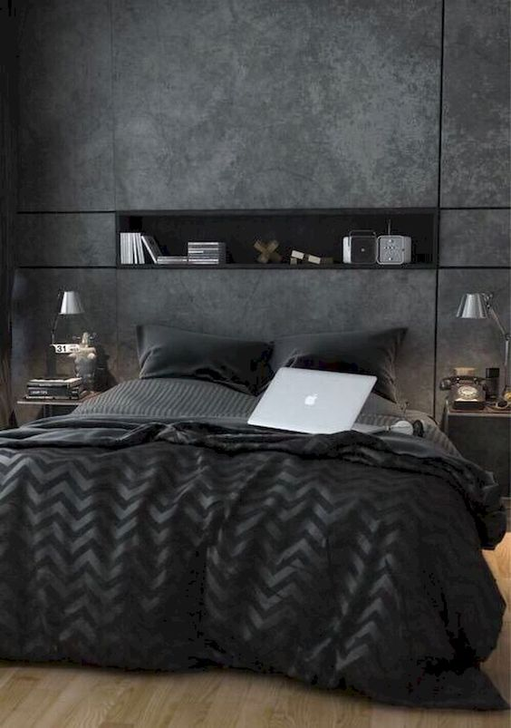 Dark Bedroom Ideas 15