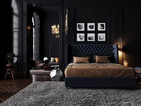 Dark Bedroom Ideas