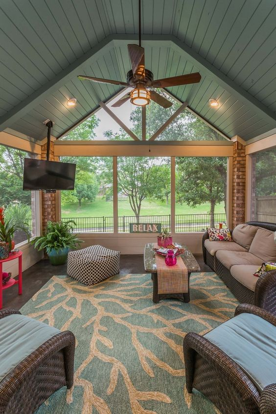 Enclosed Patio Ideas 10
