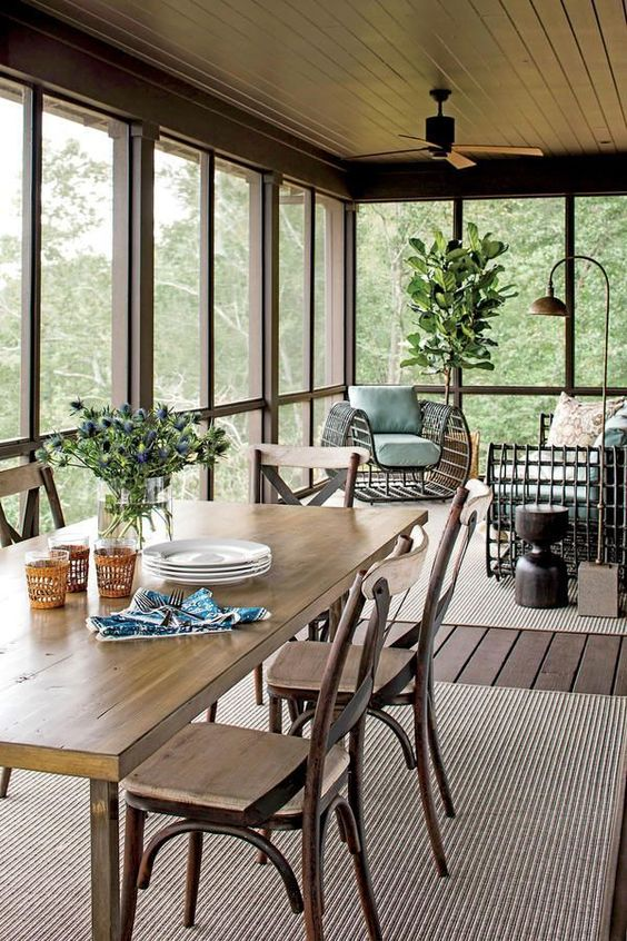 Enclosed Patio Ideas to Make Your Chilling Space Look ... on Outdoor Inclosed Patio Ideas id=75379