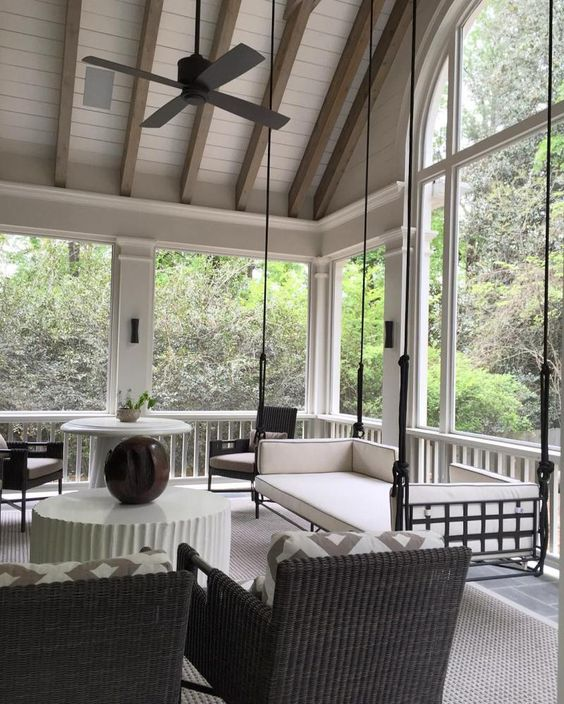 Enclosed Patio Ideas 12