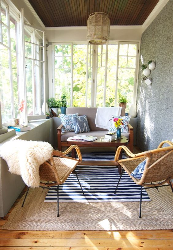 Enclosed Patio Ideas 13