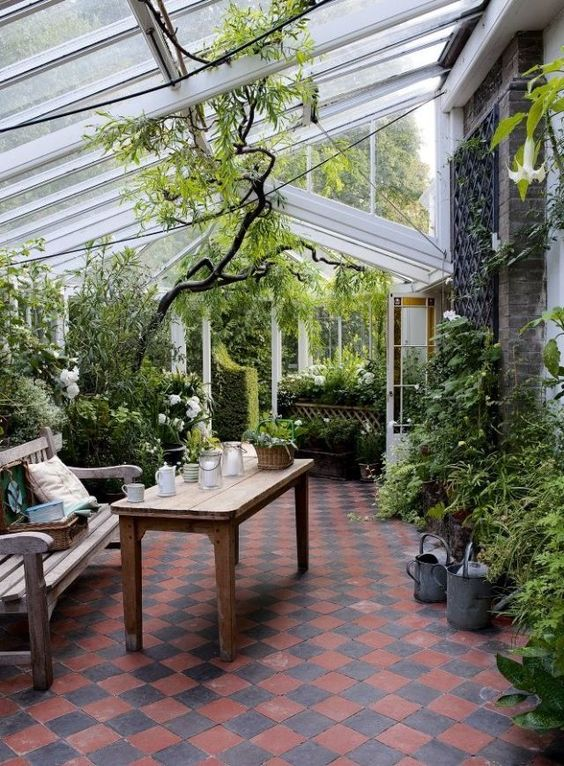 Enclosed Patio Ideas 19
