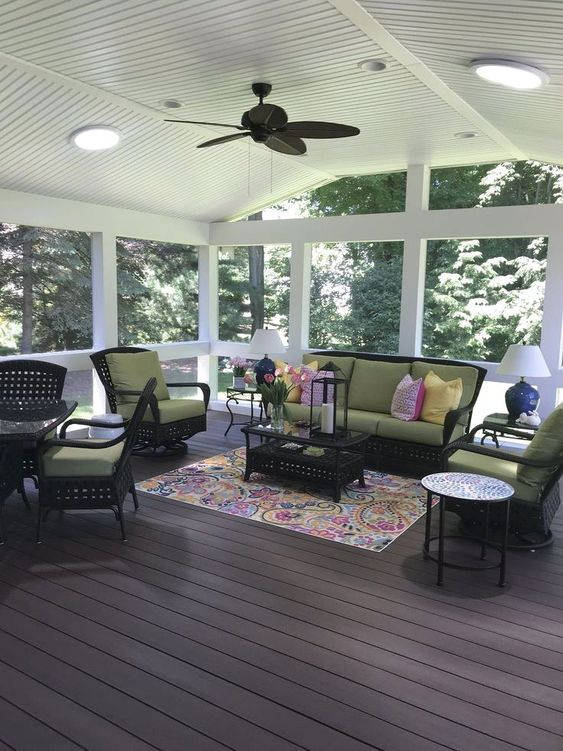 Enclosed Patio Ideas 5