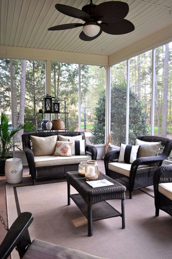 Enclosed Patio Ideas 6