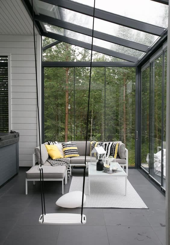 Enclosed Patio Ideas 7