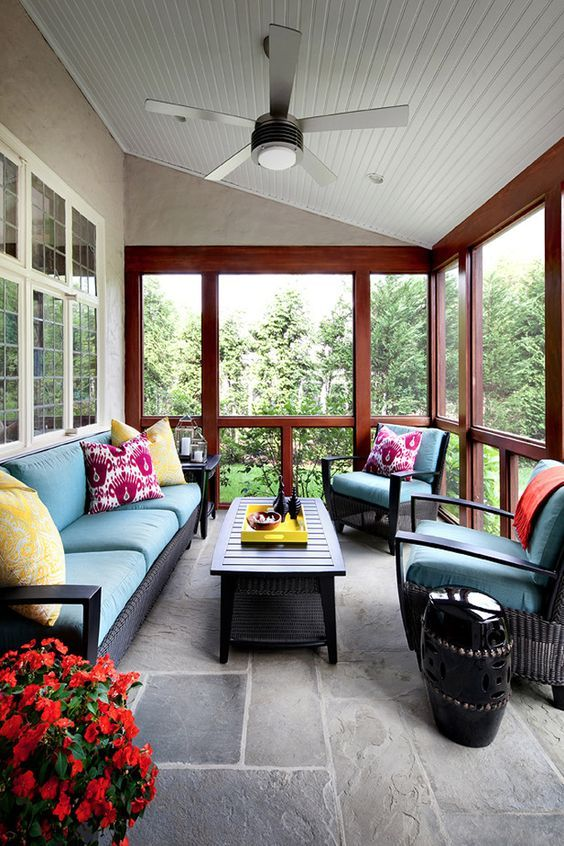 Enclosed Patio Ideas 8