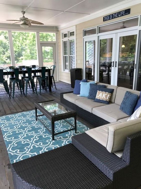 Enclosed Patio Ideas 9