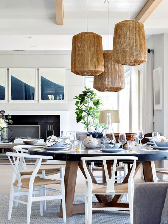 White Dining Room Ideas 14