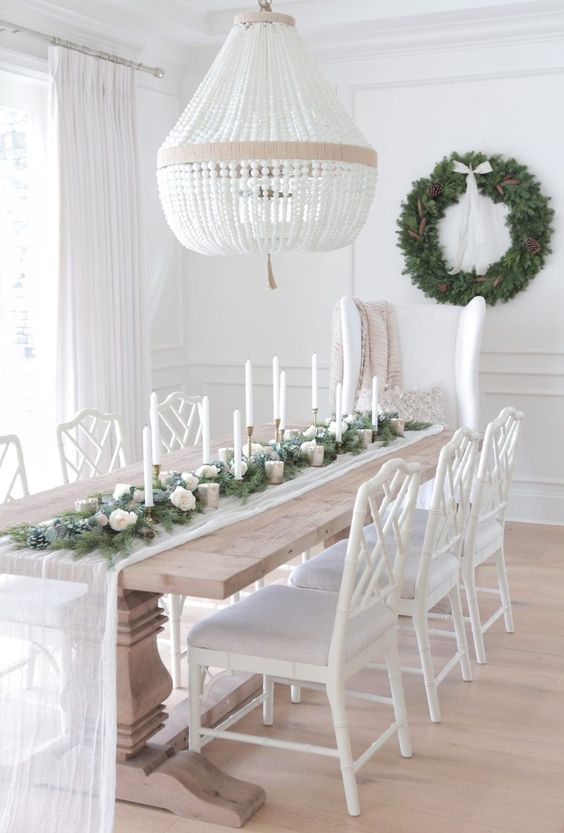 White Dining Room Ideas: Breathtaking White Decor