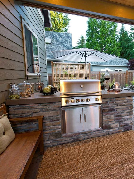 backyard grill ideas 10
