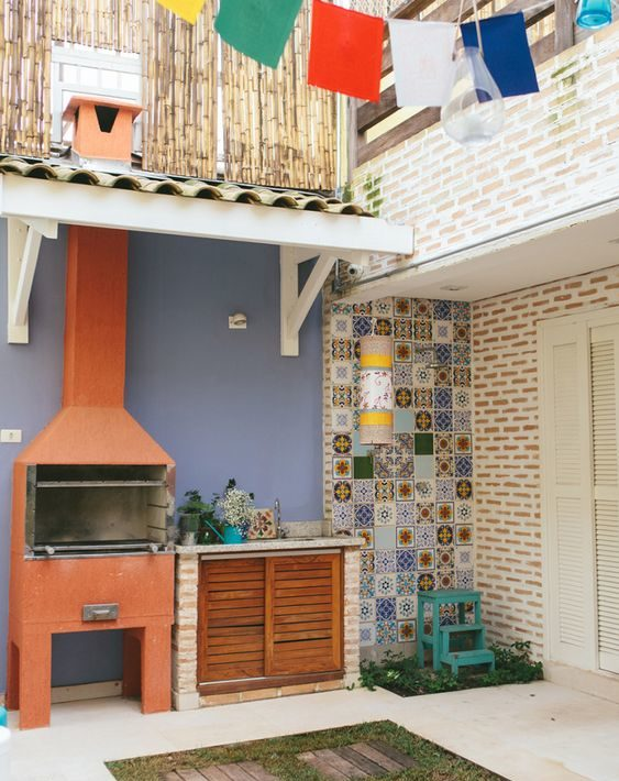 backyard grill ideas 15