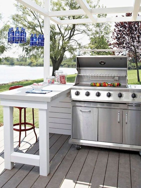backyard grill ideas 18