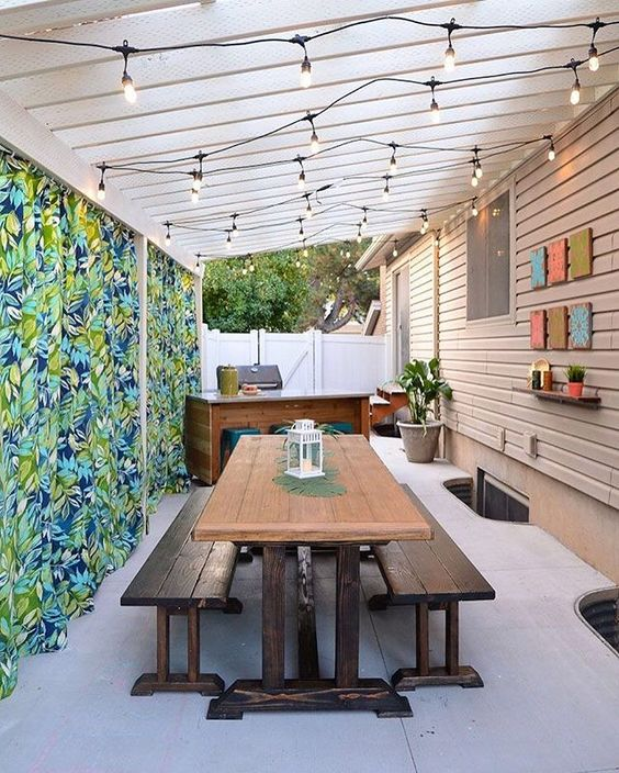 Backyard Grill Ideas: Lovely Grill Area