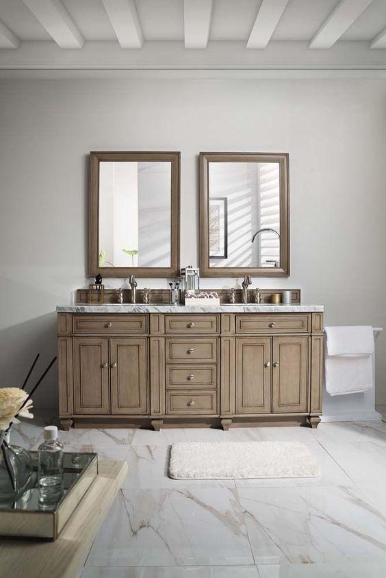 Bathroom Vanity Ideas: Stunning Vintage Vanity