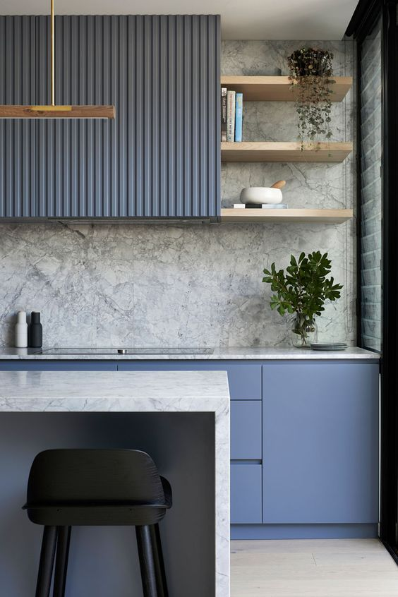 blue kitchen ideas 11