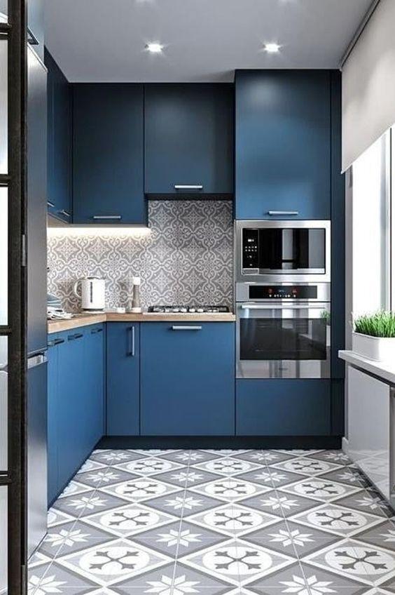 blue kitchen ideas 14