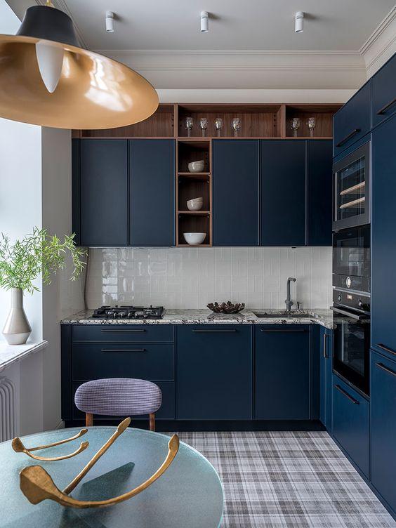 blue kitchen ideas 15