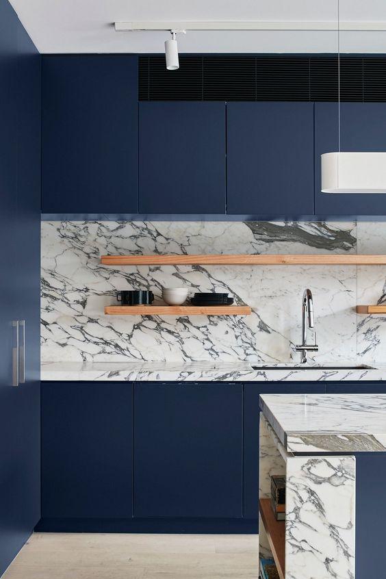 blue kitchen ideas 17