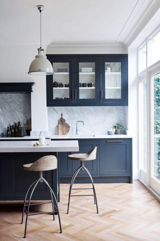 blue kitchen ideas 18